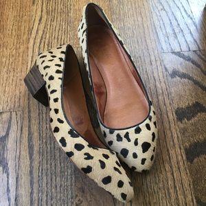 Madewell Leopard Print Heels